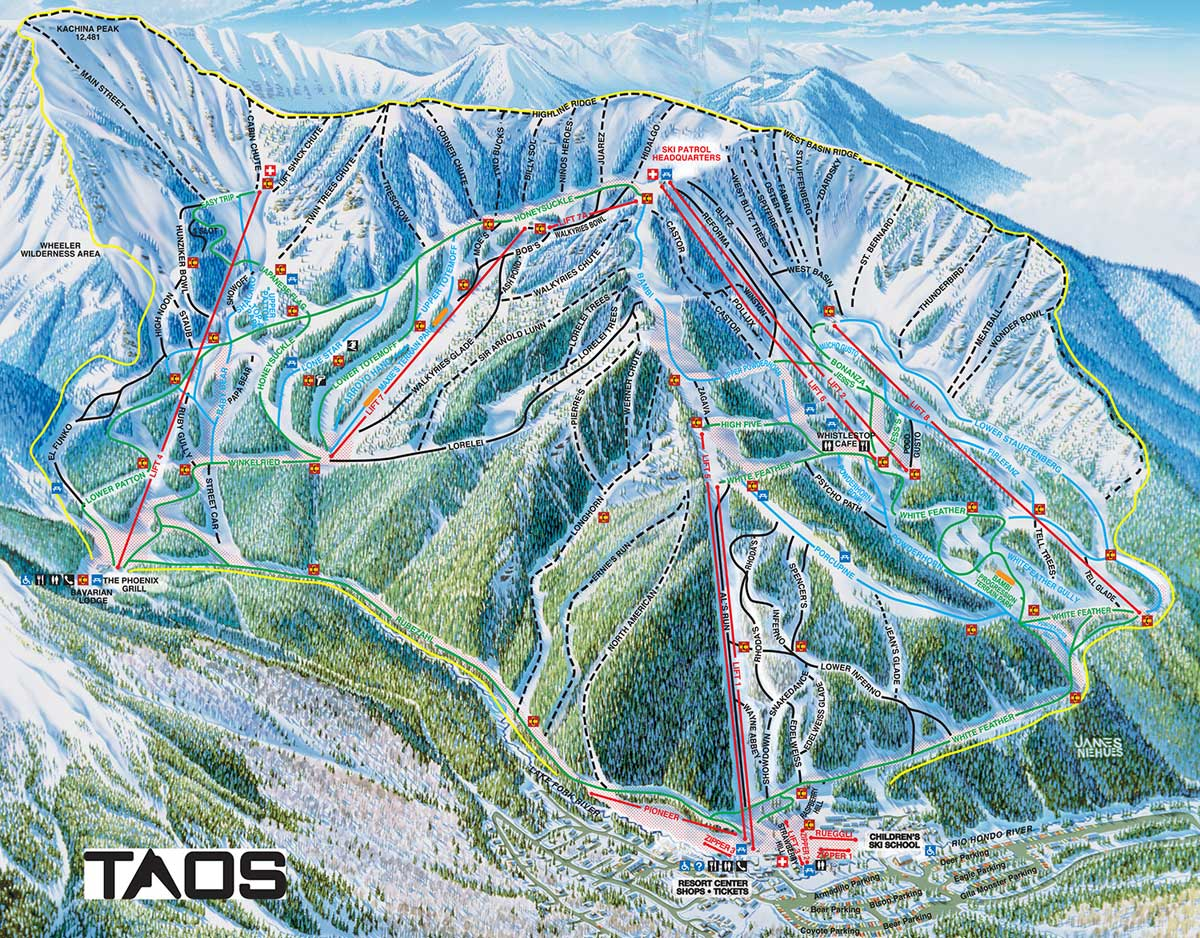 Taos Trail Map