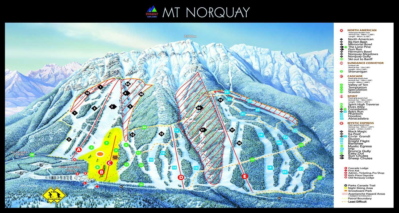 banff/lake louise ski resort